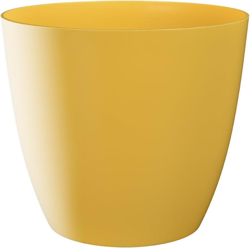 arancione Plastkon vaso decorativo Orchid diametro 13/cm