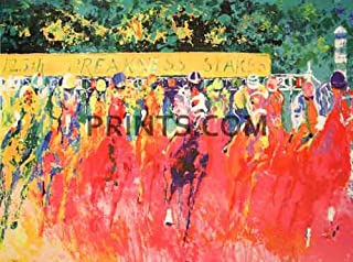 LeRoy Neiman - 125th Preakness Stakes