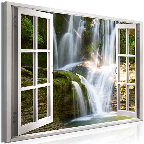 murando - Bilder Fensterblick 90x60 cm Vlies Leinwandbild 1 TLG Kunstdruck modern Wandbilder XXL...