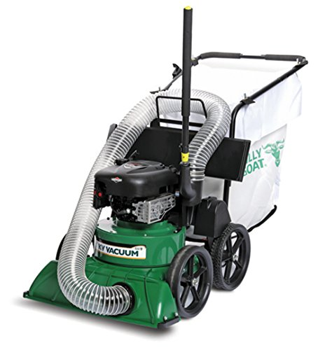 Billy Goat KV600 Lawn and Litter Vacuum, Mesh Bag with Dust Skirt