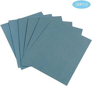 Disques Abrasifs 125 mm 80 Pi/èces Papier Abrasif Ponceuse pour Ponceuse Excentrique Poncage Excentrique de 8 trous 10 x 60//80//100//120//180//240//320//400 Grain