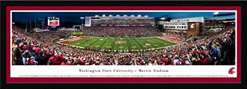 Washington State Cougars NCAA Framed 8x10 Photograph University of Washington State Team Logo