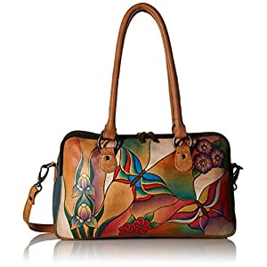 Fashion Shopping Anna by Anuschka Satchel Handbag | Genuine Leather