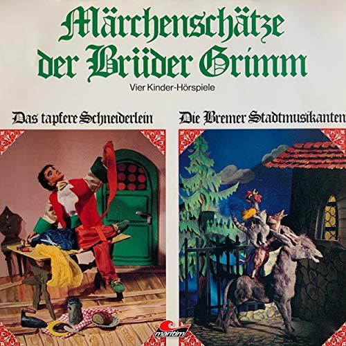 『Märchenschätze der Brüder Grimm. Vier Kinder-Hörspiele』のカバーアート