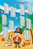Unbekannt Poster Das kleine Einmaleins mit dem Piraten -