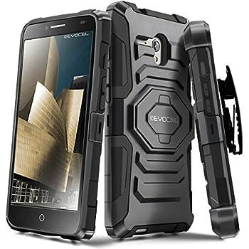 Alcatel OneTouch Fierce XL Case Evocel [New Generation Series] Belt Clip Holster Kickstand & Dual Layer for Alcatel OneTouch Fierce XL 5054  2015 Release  Black