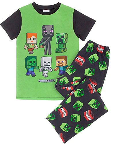 Minecraft Creeper TNT Boy's Pyjamas (6 Years)