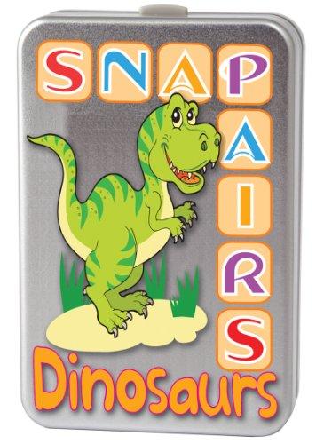 Cheatwell Games Snap + Pairs Dinosaurier Kartenspiel
