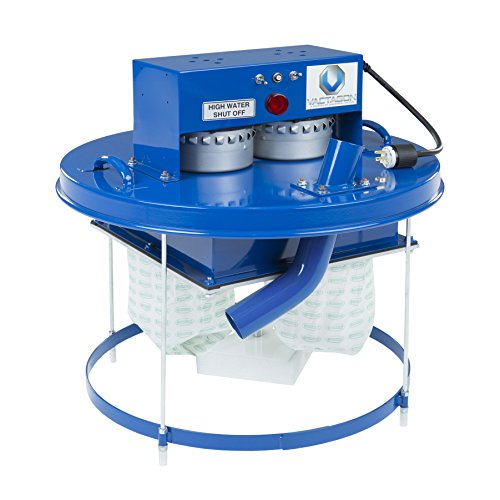 DT255F - Twin Electric Drum Top Vacuum with Standard Filtration and High Water Shutoff (DT255F)