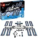LEGO Ideas International Space Station 21321 Building Kit (864 Pieces)