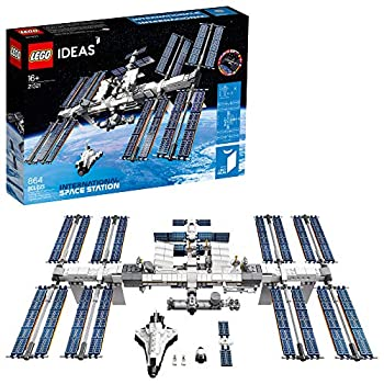 LEGO Ideas International Space Station 21321 Building Kit Adult Set for Display Makes a Great Birthday Present  864 Pieces