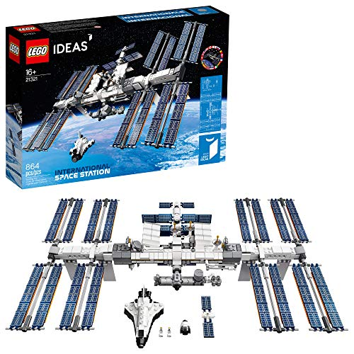 LEGO Ideas International Space Station 21321 Building Kit, Adult Set for...