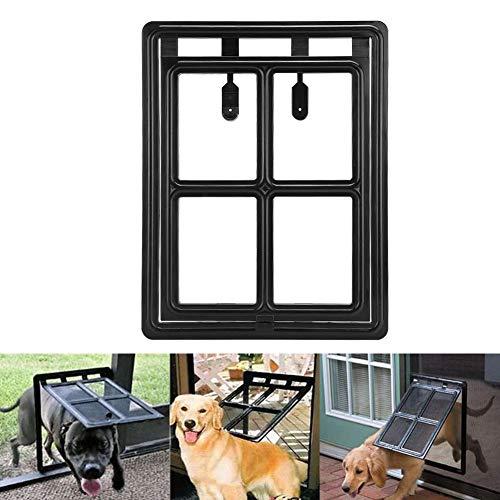 Cat Safe Flap Gate Cat Flap Pet Screen Deur Hond Cat Safe Flap Deur plastic magneetslot Pet Screen deur voor katten en honden, 45,5 x 35,5 x 1,5 cm.