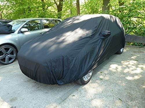 AD-Cover Outdoor Vollgarage Anti-Frost mit Spiegeltasche für Opel Astra G 1998-2003, wetterfeste Autoabdeckung für optimalen Frostschutz, Winter Abdeckplane, wasserfeste & leichte KFZ-Schutzdecke