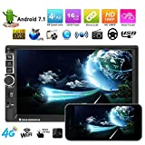Sound Boss Android 2Din 7''Ultra HD Capacitive Touchscreen GPS Navigation AM/FM Radio Audio
