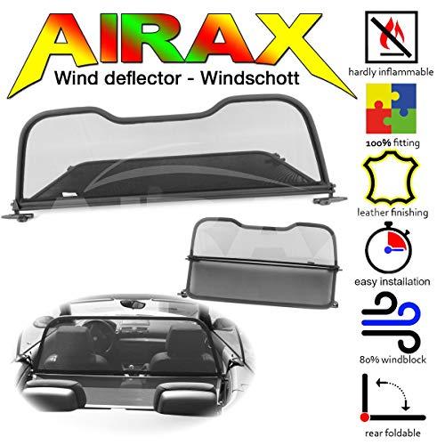 Airax Windschott für 1er Modell E88 Windabweiser Windscherm Windstop Wind deflector déflecteur de vent