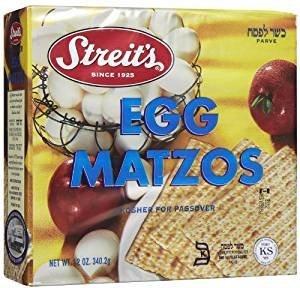 Streit's Egg Matzo Kosher For Passover 12 oz. (3-Pack)