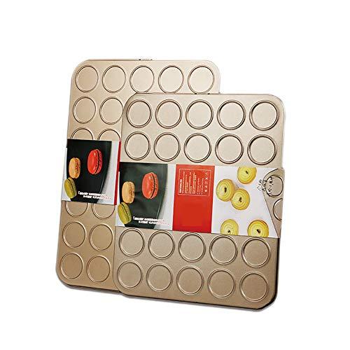 Multifunktions-Backblech, Hauptbackwerkstatt Macarons Plätzchen-Hauch-Backform, ein Satz von zwei