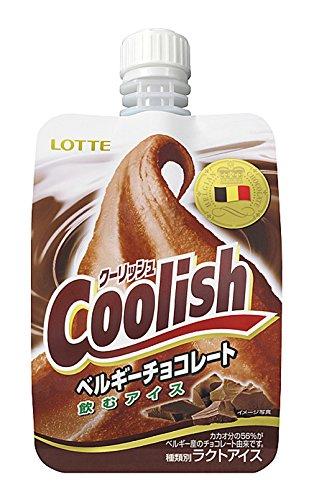 ロッテ クーリッシュ ベルギーチョコレート 140ml×24袋