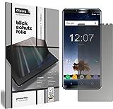 dipos I Blickschutzfolie matt kompatibel mit Oukitel K6 Sichtschutz-Folie Bildschirm-Schutzfolie Privacy-Filter