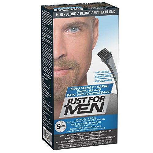 Just For Men Pflege-Brush-In-Color-Gel für Bart, Schnurrbart, Aschblond