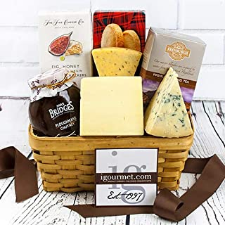British Classic Gourmet Gift Basket