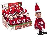 Nueva Navidad - Elfos Behavin Badly Red 12 Pulgada Muñeca Suave de Pierna Larga Travieso Duende Chica
