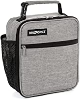 MAZFORCE Original Lunch Box Insulated Lunch Bag - Tough & Spacious Adult Lunchbox to Seize Your Day (Lunch Bags Designed...