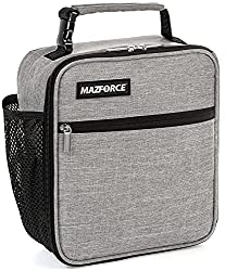 top 10 lunch bag boy MAZFORCE Original Lunch Box Insulated Lunch Box – A sturdy and spacious lunch box for adults…