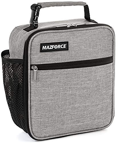 MAZFORCE Original Lunch Box Insulated Lunch Bag - Tough & Spacious Adult Lunchbox to Seize Your Day...
