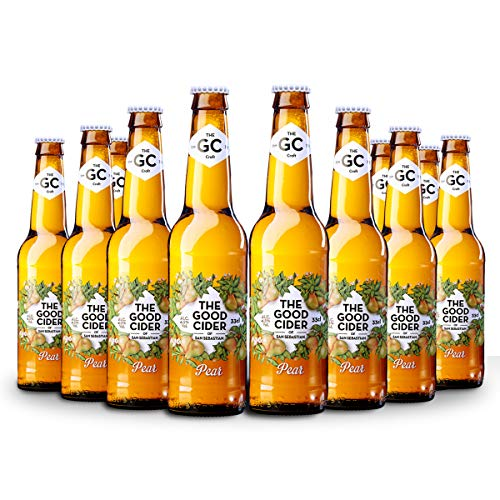 The Good Cider Pear - Sidra de Pera, Sidra Natural de Sabores – Caja 12 botellas x 33 cl