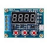 Fivekim ZB2L3 - Analizador de dispositivo de control de descarga de metro de capacidad de batería de iones de litio