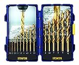 Irwin 10503991 Coffret de forets HSS Revêtement titane 15 pièces (Import Grande...