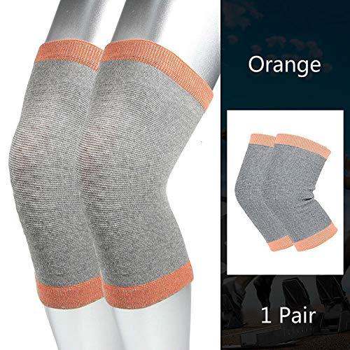 Yyzc 1 paar anti-koud zelfverwarming kniepad winter outdoor sport kniesteun toermalijn magnetische kniebeschermer Brace Patella-verwarmer