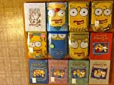 The Simpsons Seasons 1-11 & 20 (Collectors Head Boxes & Some Brand New!)