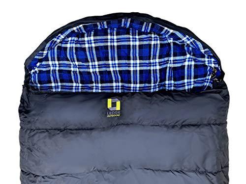 Ledge Sports Montana -30 F Degree XXL Oversize Sleeping Bag (96 X 44)
