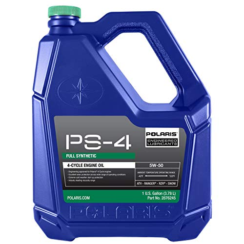 Genuine Polaris PS-4 Full Synthetic Oil 5W-50-1 GALLON - 2876245