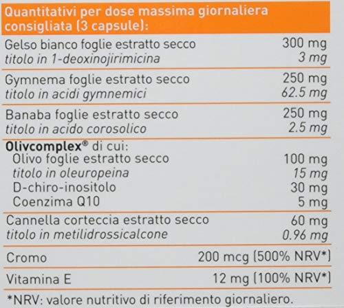Erba Vita Integratore Alimentare Glicem Stop 60 Capsule in Blister