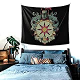 SDFGHZQW Dark Souls 2 Artorias of The Abyss Solaire of Astora Praise The Sun Tapestry Bedspread Wall Cloth Polyester Beach Mat Leisure-in(198×150cm)
