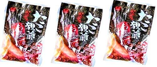 海鮮おつまみ たこ つまみ 北海道 蛸のやわらか煮 300g ×3個セット たこのやわらか煮 北海道産 ぐるめ食品 送料無料