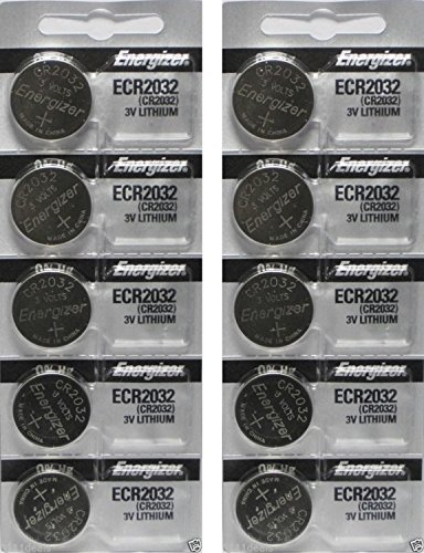 Energizer CR2032 3 Volt Lithium Coin Battery 40 Pack In Original Packaging