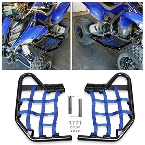HECASA Side Steps Compatible with Yamaha Raptor 700 YFM YFM700 (Blue)