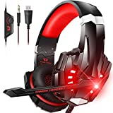 BENGOO G9000 Stereo Gaming Headset for PS4, PC, Xbox One Controller, Noise...