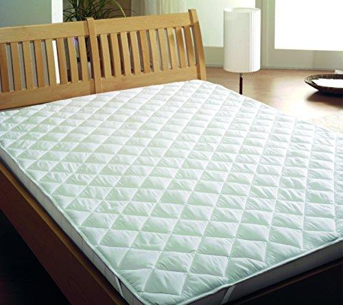 MB Warenhandel24 Premium matras onder het bed (140x200 cm) matrasbeschermer spanoplegger katoen