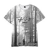 LXF T-Shirt Taylor Swift Imprimé, T-Shirt Décontracté D'été, Manches Courtes Taylor Swift