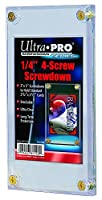 "Ultra Pro 1/4"" Screwdown Recessed Trading Card Holder ( Packaging May Vary )"
