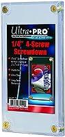 "Ultra Pro 1/4"" Screwdown Recessed Trading Card Holder"