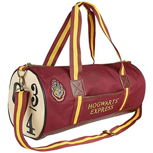 Groovy Harry Potter Hogwarts Express 9 & 3/4 Holdall, rosso, medio