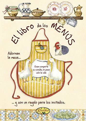 El libro de los menús (Toma nota)