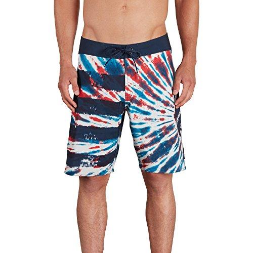 Volcom Men's Peace Stone Mod 20' Boardshort Board Shorts, True Blue, 30A